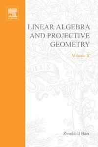 Foto Cover di Linear algebra and projective geometry, Ebook inglese di  edito da Elsevier Science