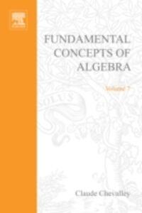 Ebook in inglese Fundamental concepts of algebra -, -