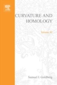 Foto Cover di Curvature and homology, Ebook inglese di  edito da Elsevier Science
