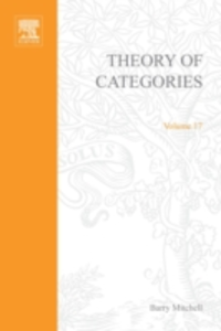 Ebook in inglese Theory of categories -, -