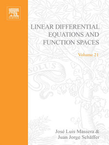 Ebook in inglese Linear differential equations and function spaces -, -