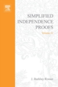 Ebook in inglese Simplified independence proofs -, -