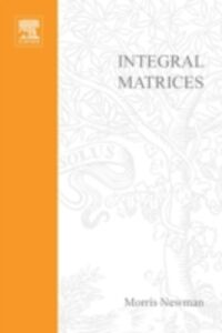 Ebook in inglese Integral matrices -, -