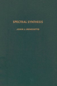 Ebook in inglese Spectral synthesis -, -