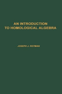 Ebook in inglese Introduction to Homological Algebra, 85 Rotman, Joseph J.
