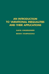 Ebook in inglese introduction to variational inequalities and their applications -, -