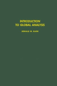 Ebook in inglese Introduction to global analysis -, -
