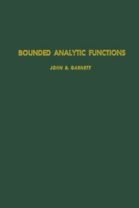 Ebook in inglese Bounded analytic functions -, -