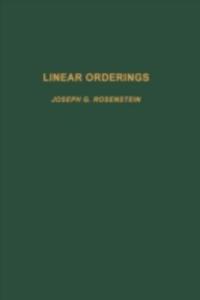 Ebook in inglese Linear orderings -, -