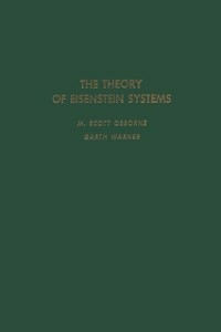 Ebook in inglese theory of Eisenstein systems -, -