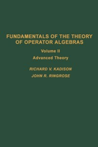 Ebook in inglese Fundamentals of the theory of operator algebras. V2 -, -