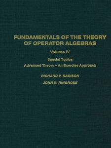 Ebook in inglese Fundamentals of the theory of operator algebras. V4 -, -