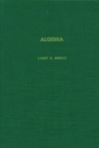 Ebook in inglese Algebra Unknown, Author
