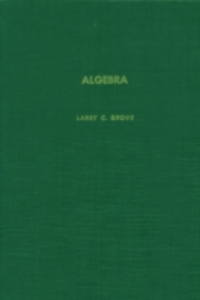 Ebook in inglese Algebra -, -