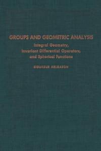 Ebook in inglese Groups & Geometric Analysis -, -