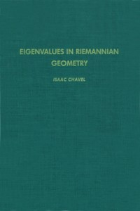 Ebook in inglese Eigenvalues in Riemannian Geometry Chavel, Isaac