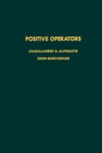 Ebook in inglese Positive operators -, -