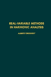 Ebook in inglese Real-variable methods in harmonic analysis -, -