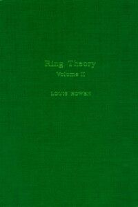 Ebook in inglese Ring theory V2 -, -