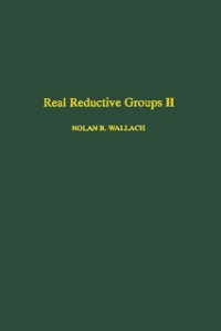 Ebook in inglese Real reductive groups II -, -