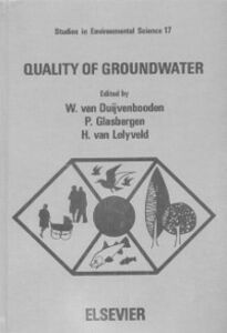 Ebook in inglese Quality of groundwater