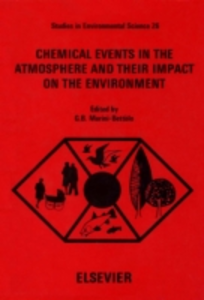Ebook in inglese Chemical Events in the Atmosphere and their Impact on the Environment -, -