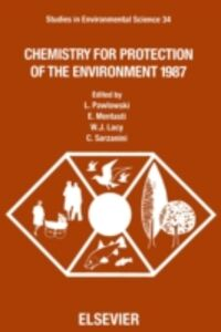 Foto Cover di Chemistry for Protection of the Environment 1987, Ebook inglese di  edito da Elsevier Science
