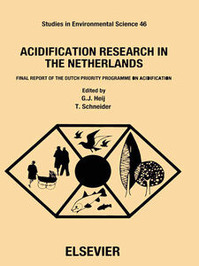 Ebook in inglese Acidification Research in the Netherlands -, -