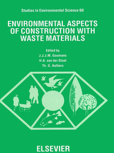 Foto Cover di Environmental Aspects of Construction with Waste Materials, Ebook inglese di AA.VV edito da Elsevier Science