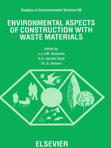 Ebook in inglese Environmental Aspects of Construction with Waste Materials -, -