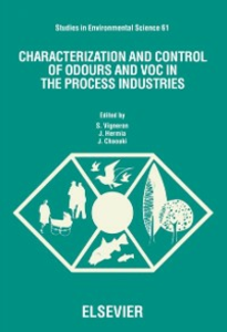 Ebook in inglese Characterization and Control of Odours and VOC in the Process Industries -, -