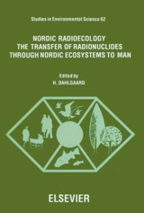 Ebook in inglese Nordic Radioecology -, -