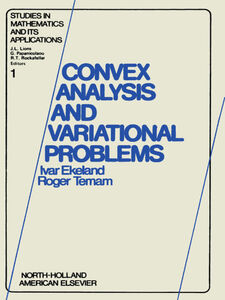 Foto Cover di Convex analysis and variational problems, Ebook inglese di  edito da Elsevier Science