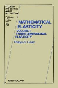 Ebook in inglese Three-Dimensional Elasticity -, -