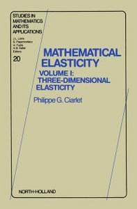 Ebook in inglese Three-Dimensional Elasticity -, -