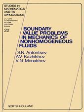 Boundary Value Problems in Mechanics of Nonhomogeneous Fluids