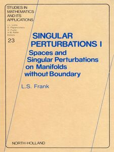 Ebook in inglese Singular Perturbations I Frank, L.S.