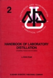 Ebook in inglese Handbook of Laboratory Distillation Krell, E.