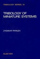 Tribology of Miniature Systems