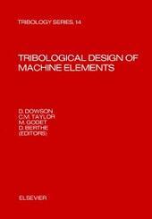 Tribological Design of Machine Elements