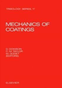 Foto Cover di Mechanics of Coatings, Ebook inglese di  edito da Elsevier Science