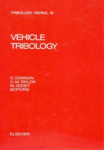 Ebook in inglese Vehicle Tribology -, -