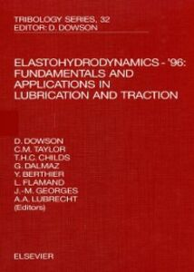 Foto Cover di Elastohydrodynamics - '96, Ebook inglese di  edito da Elsevier Science