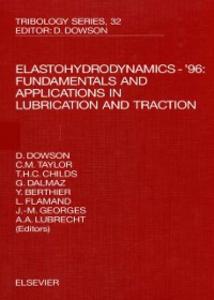 Ebook in inglese Elastohydrodynamics - '96 -, -