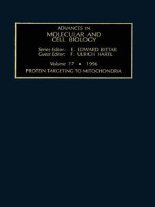 Ebook in inglese Protein Targeting to Mitochondria -, -