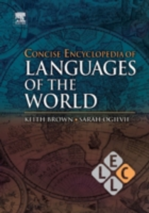 Ebook in inglese Concise Encyclopedia of Languages of the World -, -