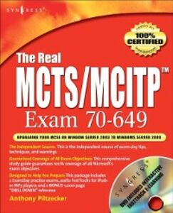 Ebook in inglese Real MCTS/MCITP Exam 70-649 Prep Kit Posey, Brien