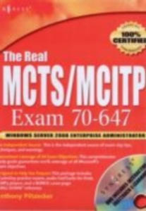 Ebook in inglese Real MCTS/MCITP Exam 70-647 Prep Kit Piltzecker, Anthony