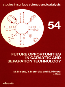 Ebook in inglese Future Opportunities in Catalytic and Separation Technology -, -