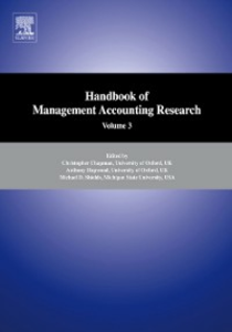 Ebook in inglese Handbooks of Management Accounting Research 3-Volume Set -, -